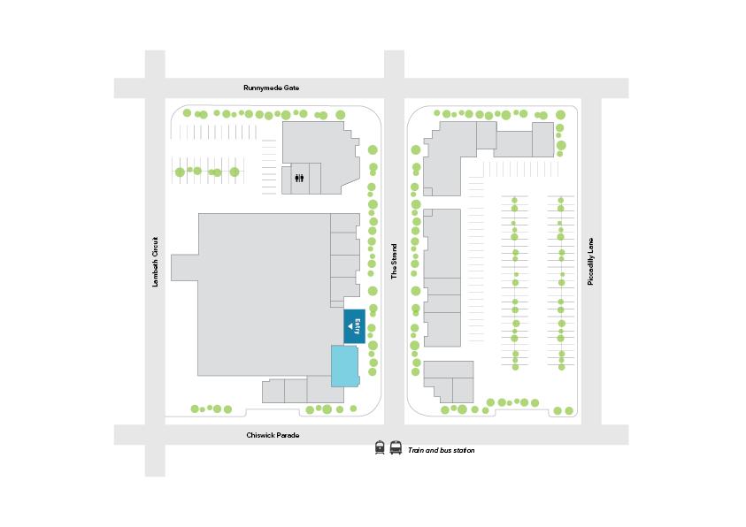 BWS Liquor Floorplan